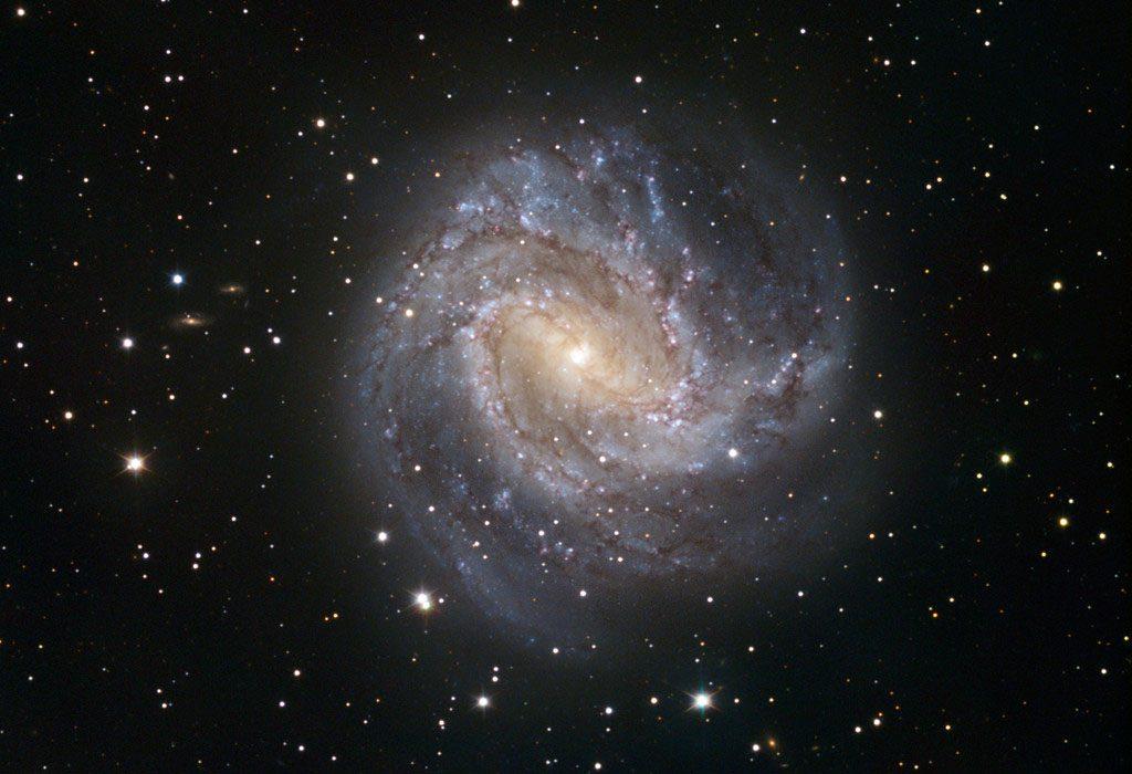 Photo de la galaxie spirale M 83 dans la constellation de l'Hydre
