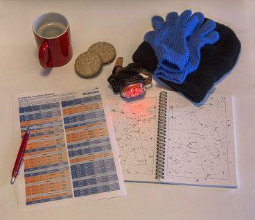 Equipement de l'observateur et matériel de repérage pour l'astronomie