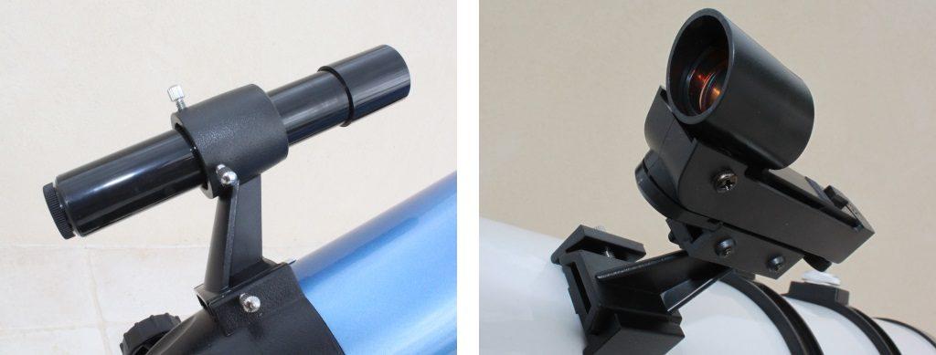 Photo illustrant la différence entre chercheur et pointeur.
