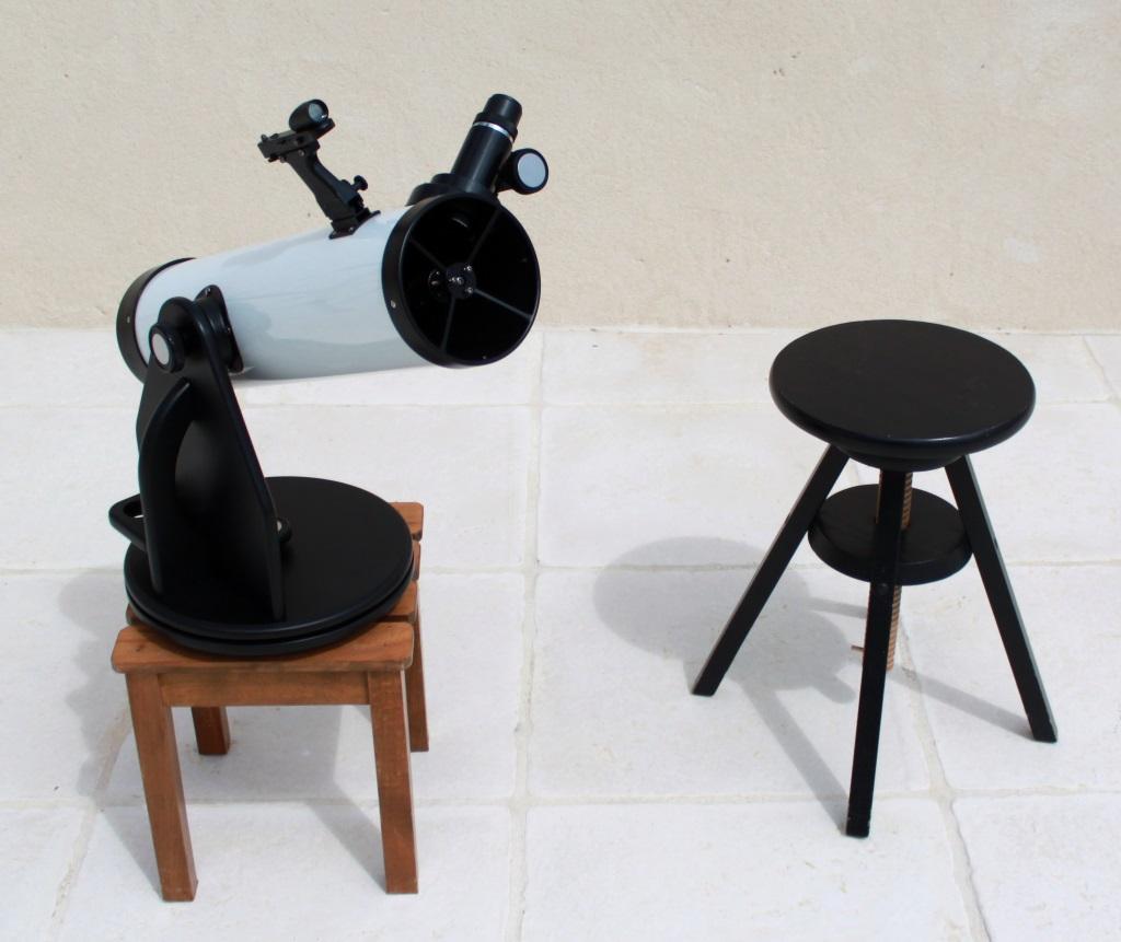 Mini tabletop Dobsonian 100 / 640