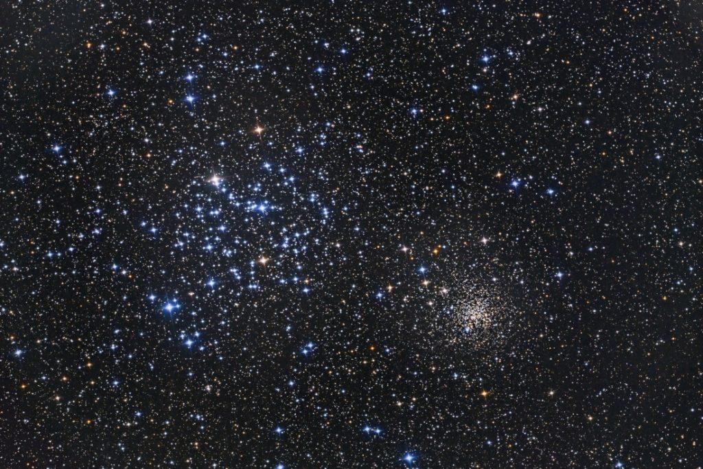 Amas M36 et NGC2158