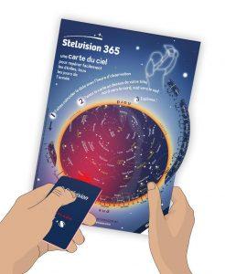 photo carte du ciel Stelvision 365 et StelFlash