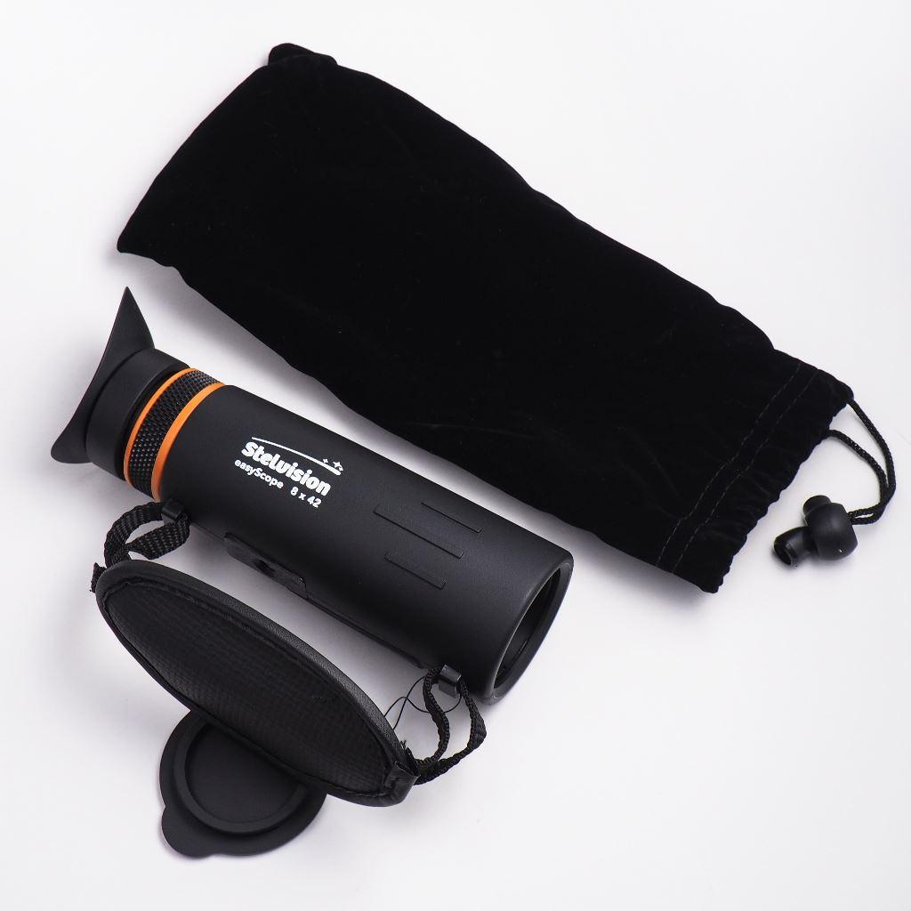 Monoculaire EasyScope et sa pochette