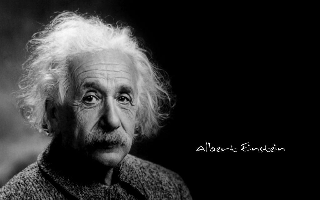 Photographie de Albert Einstein