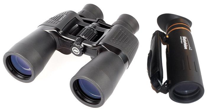 Jumelles 10x50 ST2 et easyScope Stelvision