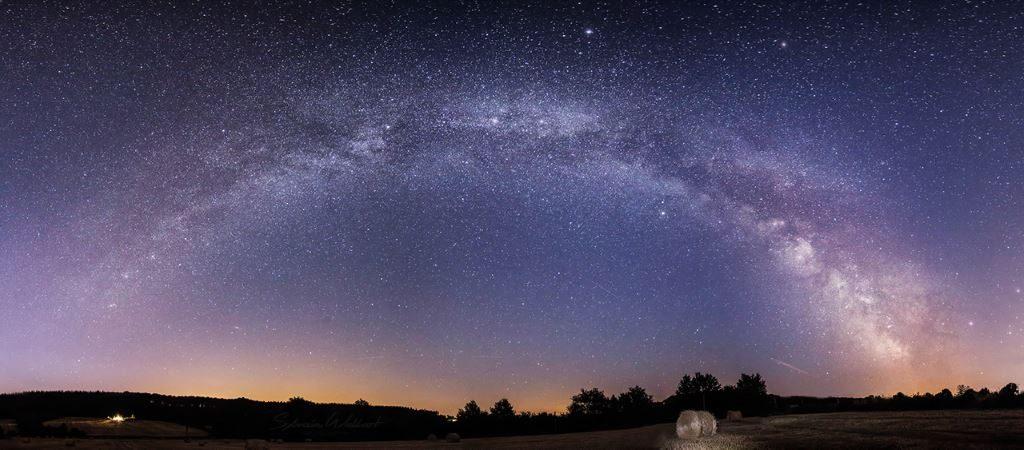 photo arche Voie Lactée par Sylvain Wallart