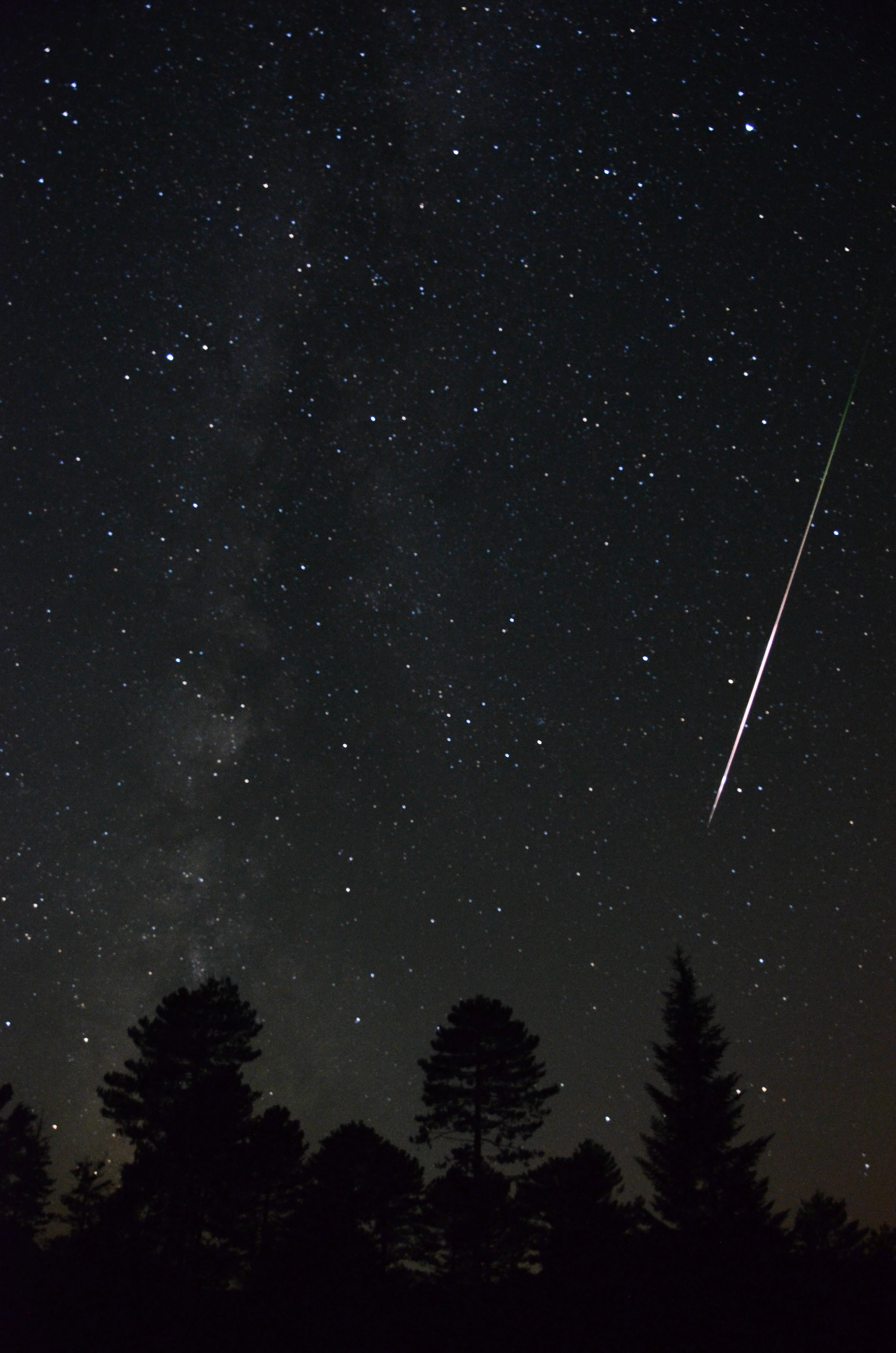photo étoile filante