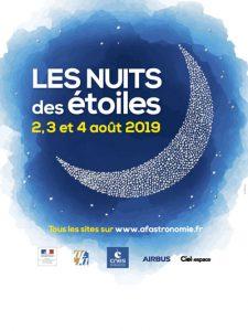 Affiche des Nuits des étoiles 2019