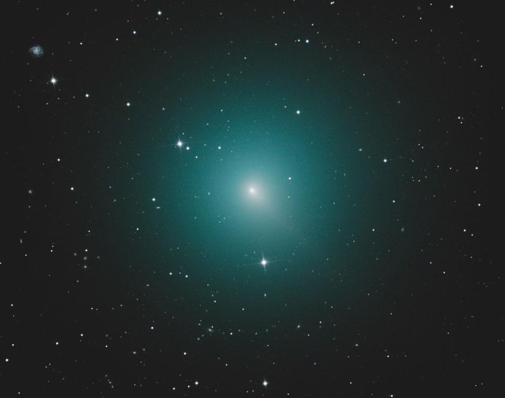 La comète Wirtanen photographiée le 7 novembre 2018 dans l'hémisphère sud par Alex Cherney.