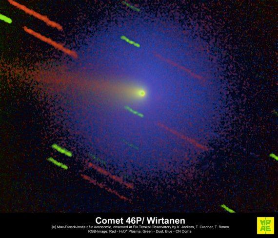 La comète 46P/Wirtanen.
