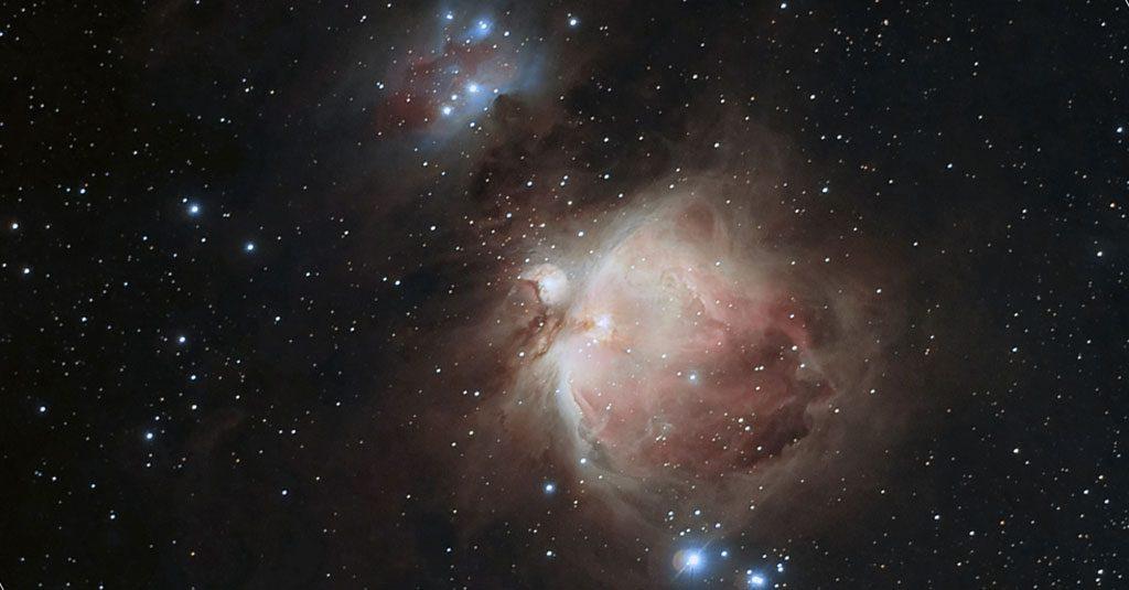 M42, la nébuleuse d'Orion. Photo David Cuevas