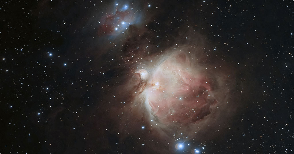M42, la nébuleuse d'Orion. Photo David Cuevas