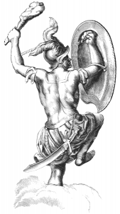 Figure mythologique d'Orion