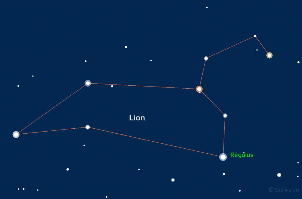 Constellation du Lion