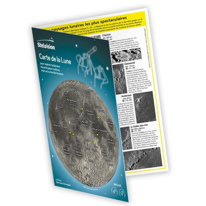 vue du dépliant Carte de la Lune