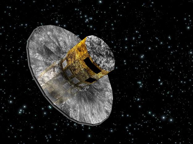 Le satellite Gaia, véritable géomètre du ciel. Crédit : ESA