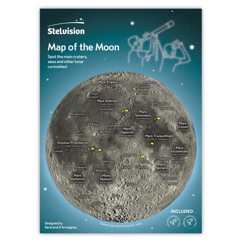 Map of the Moon - Cover