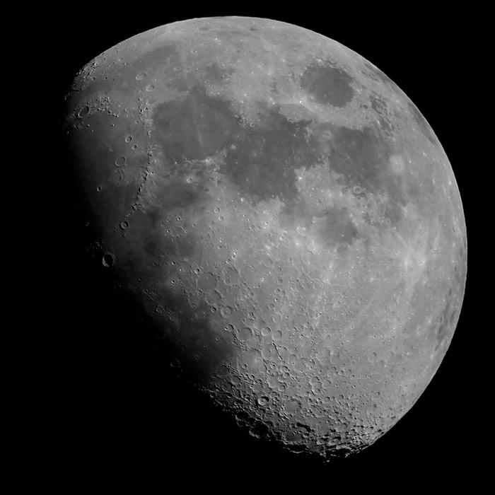 photo de la Lune gibbeuse