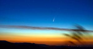 photo de la comète C/2020 F3 (NEOWISE) le 7 juillet 2020 par Cyril Calvet