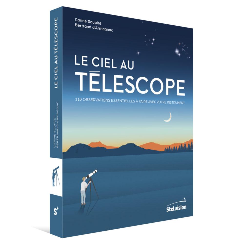 Couverture Le Ciel au télescope (perspective)