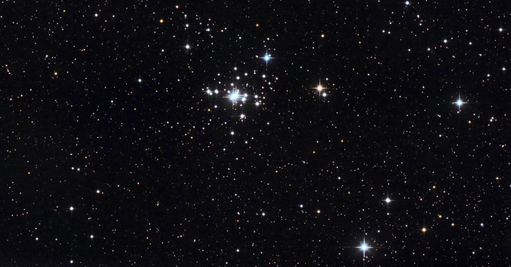 Photo de l'amas ouvert NGC1502.