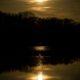 Reflets dorés lunaire