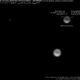 Neptune et Triton au télescope de 1 mètre du Pic du Midi