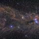 Grand champs ur le Chandelier NGC6726 dans la Couronne Australe