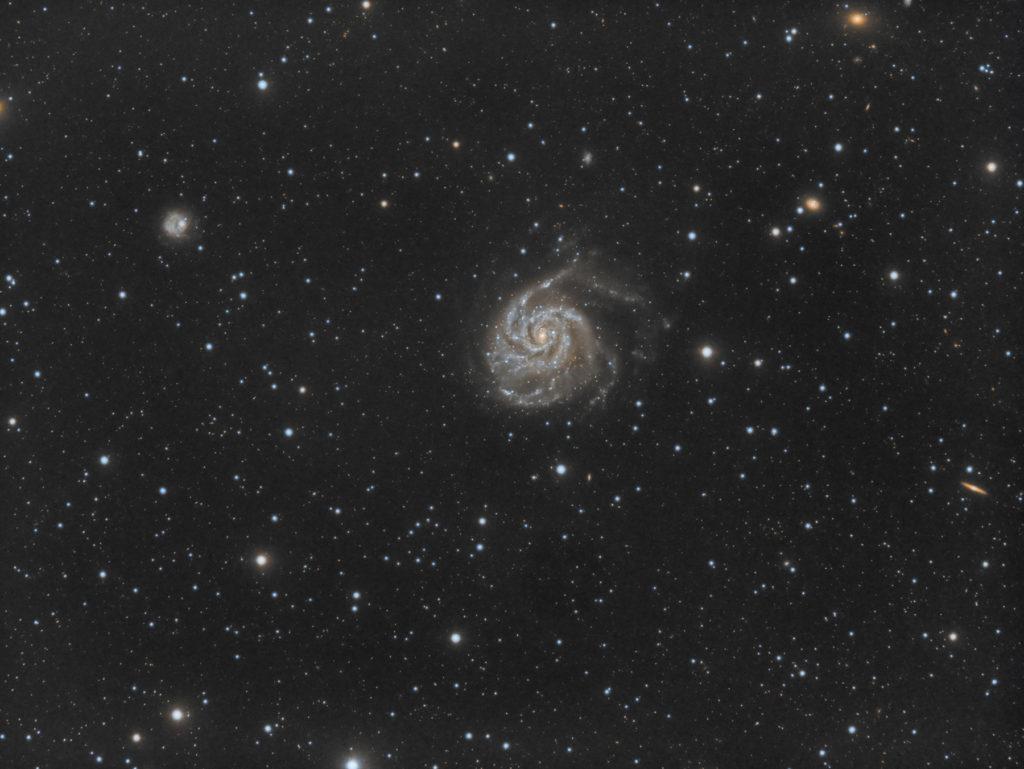 Photo M101 - Galaxie du moulinet