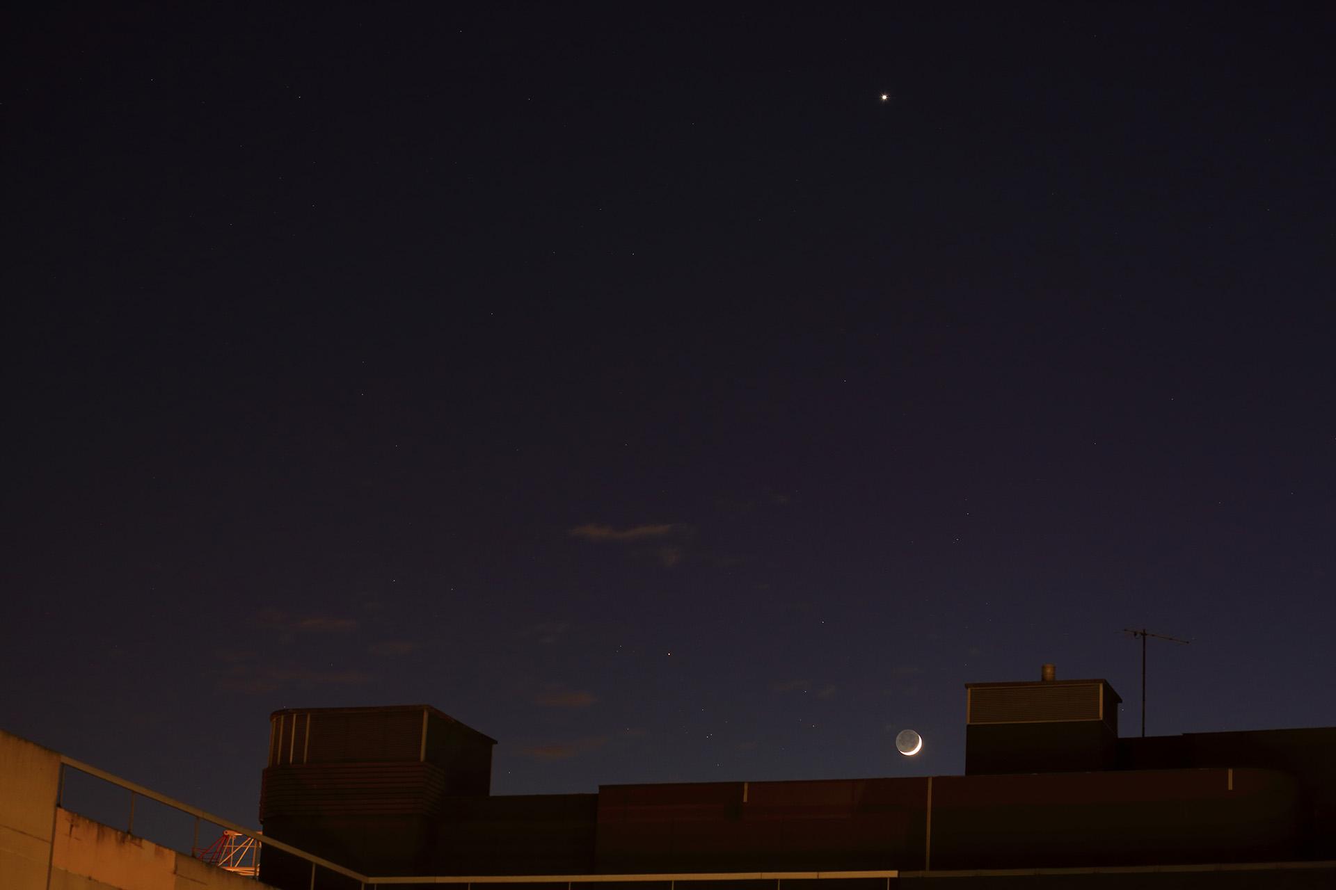 Rapprochement Lune-Vénus