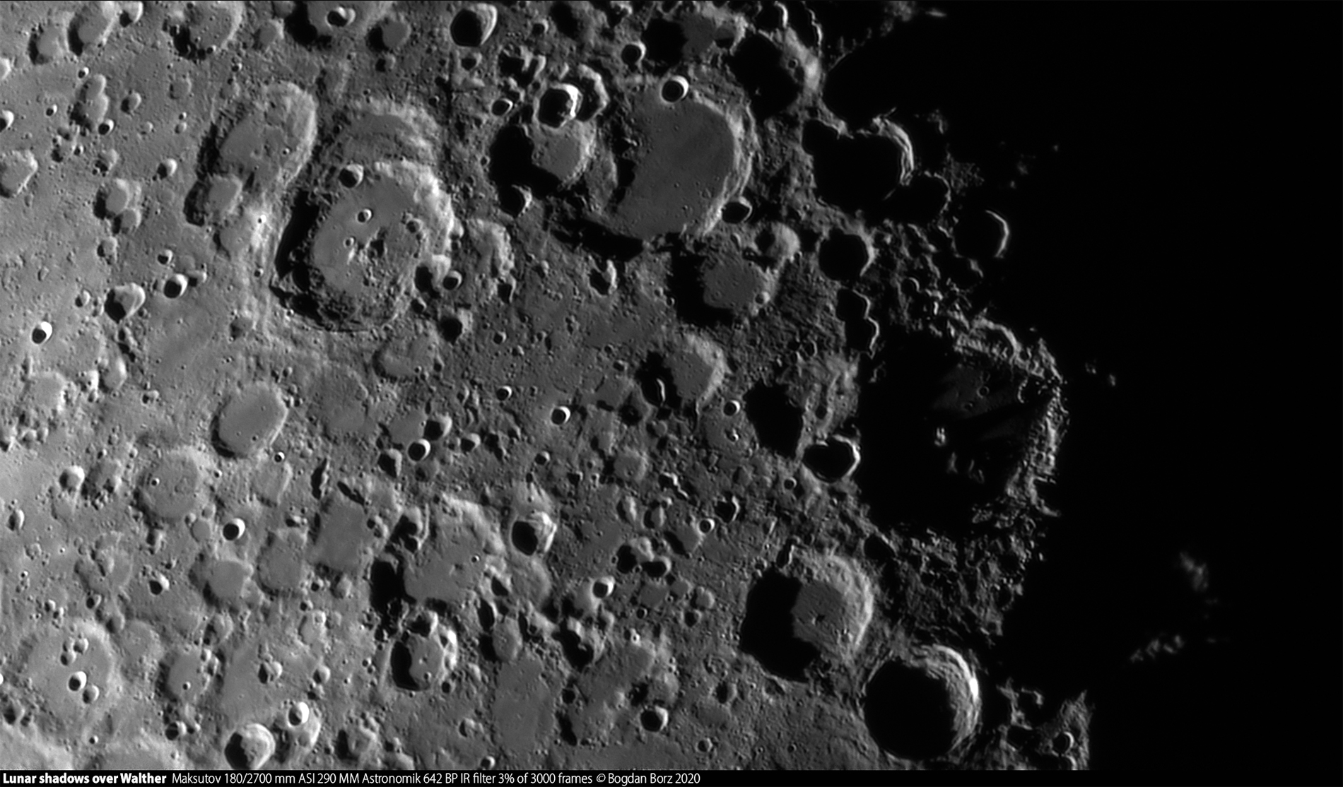 Ombres lunaires sur Walther