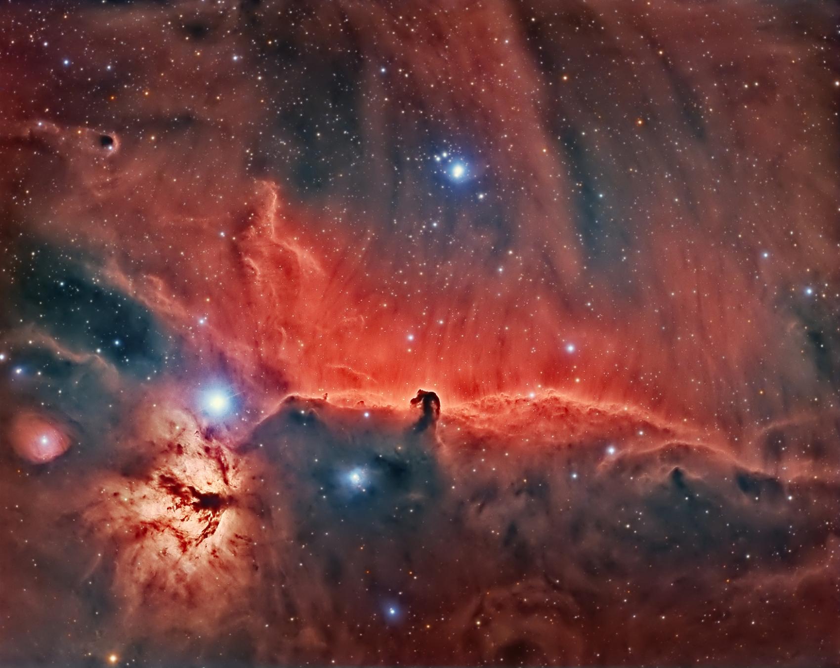 IC434 la nébuleuse à tete de cheval en HaRGB