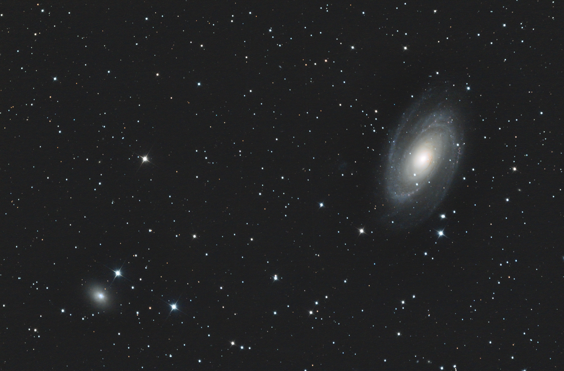M81 et NGC 3077