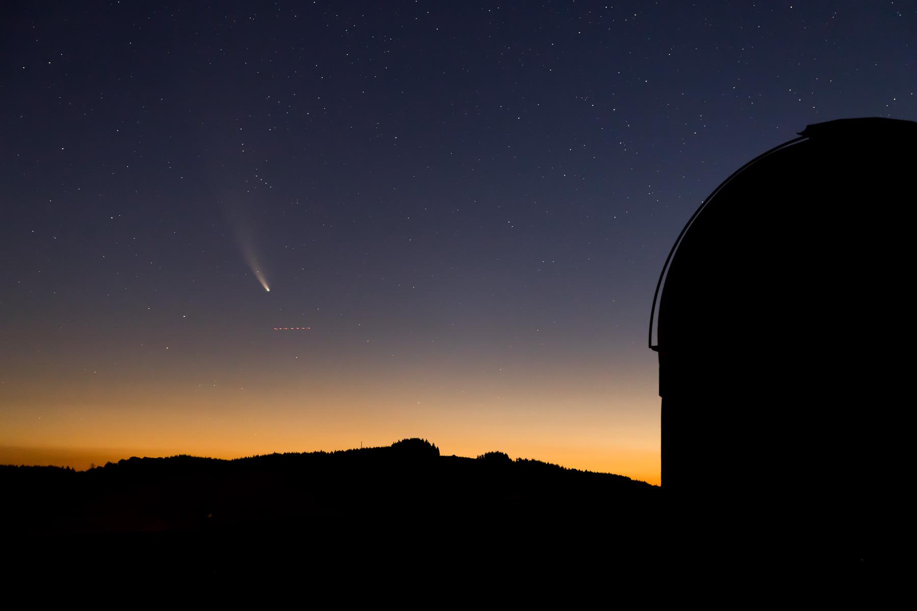 A la rencontre de la comète Neowise