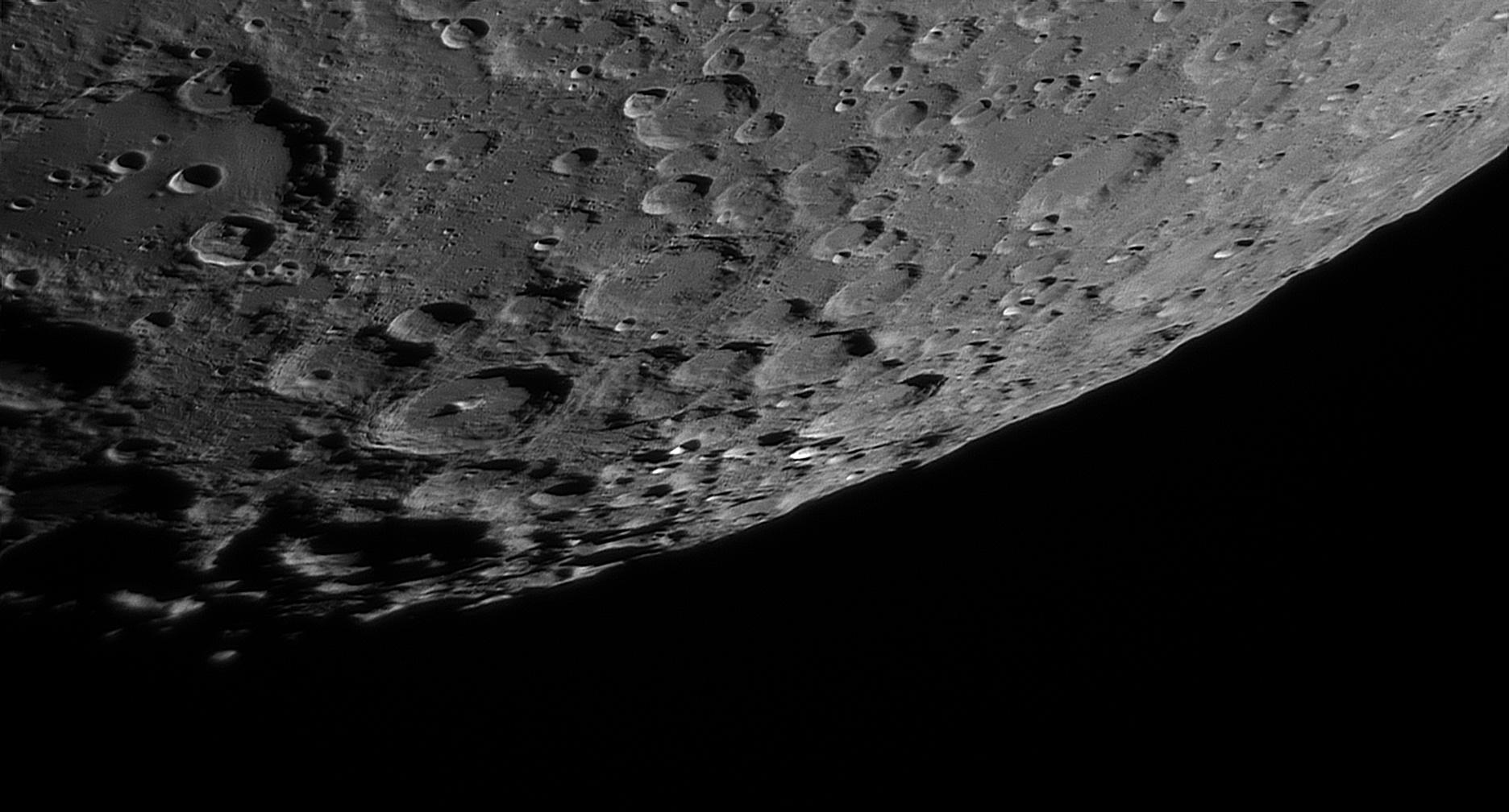 Sud Lunaire et Cratère Clavius