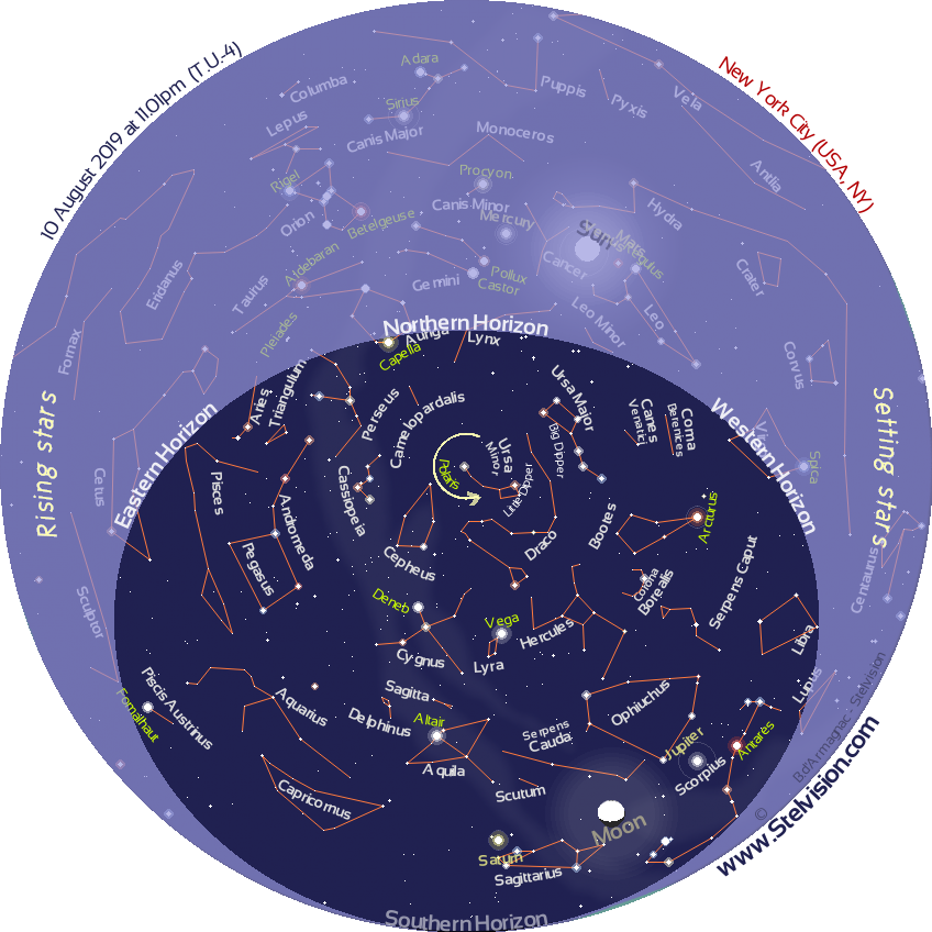 Sky Map in Real Time | Stelvision