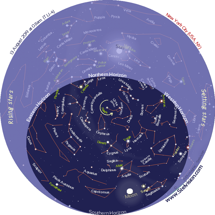 Sky Map in Real Time   Stelvision
