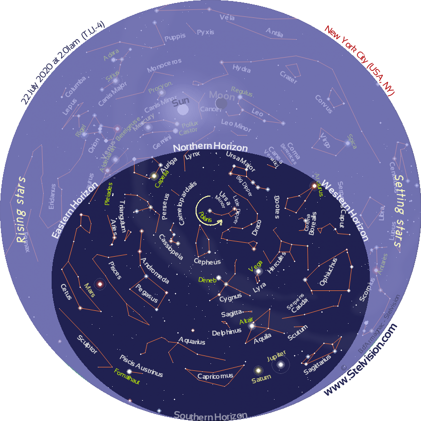 star map for today Jcigusbebmucmm