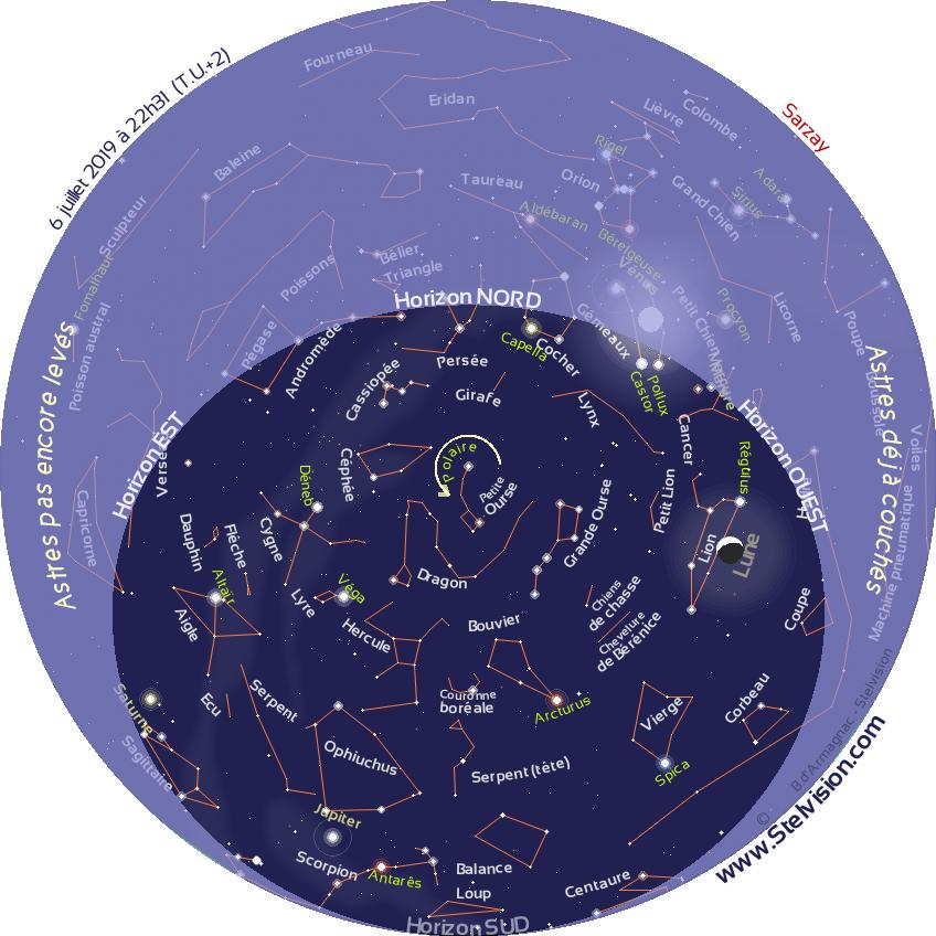 504752410d Carte du ciel étoilé en temps réel | Stelvision