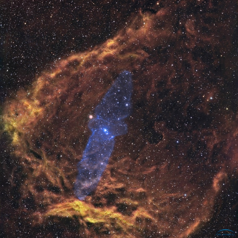 Nebuleuse SH-129 & Outters 4