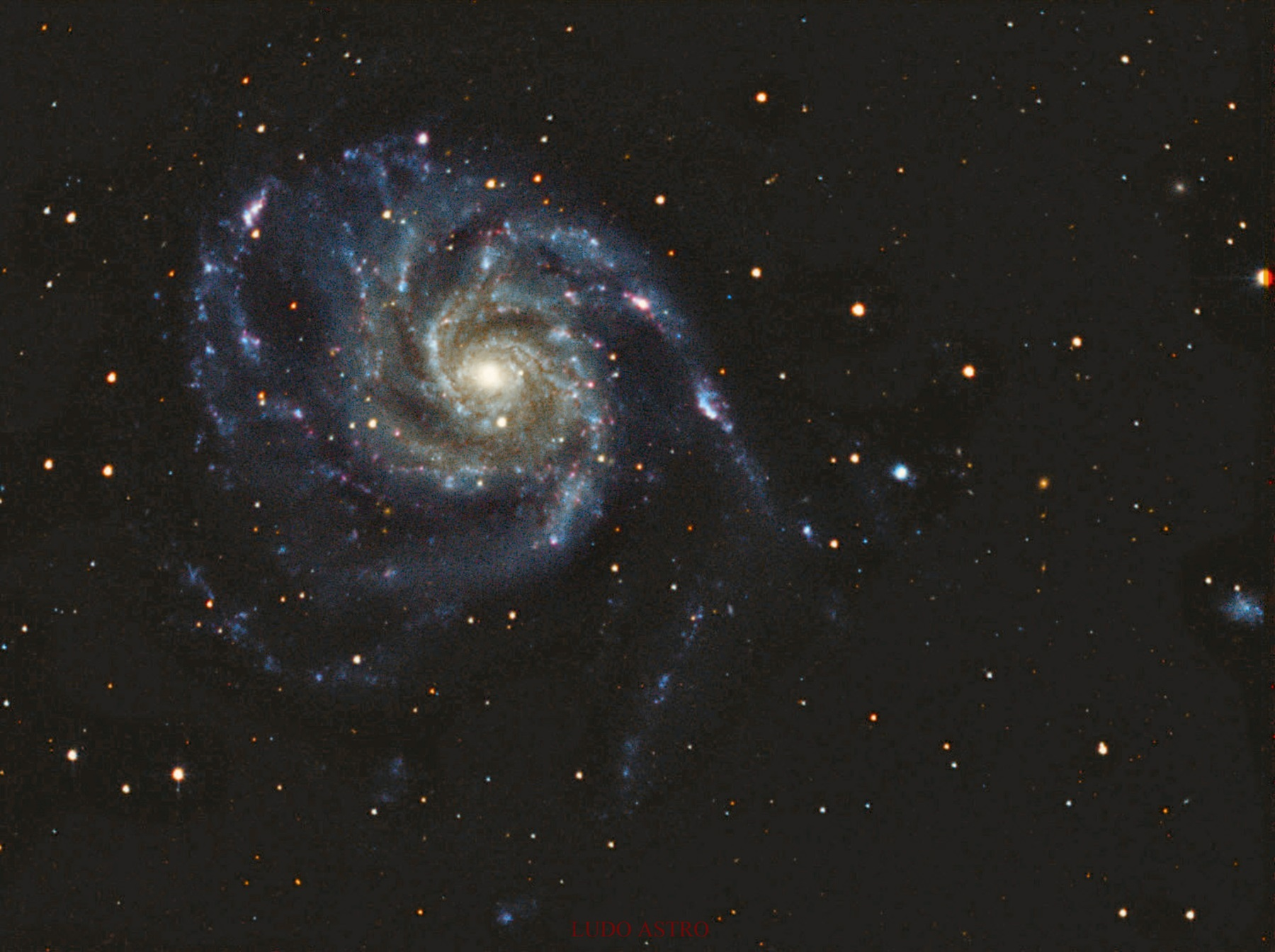 M101 galaxie du moulinet