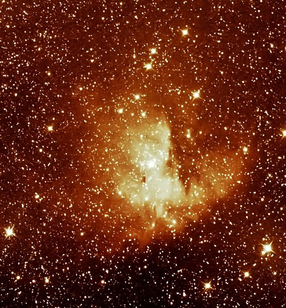 ngc281; le pacman